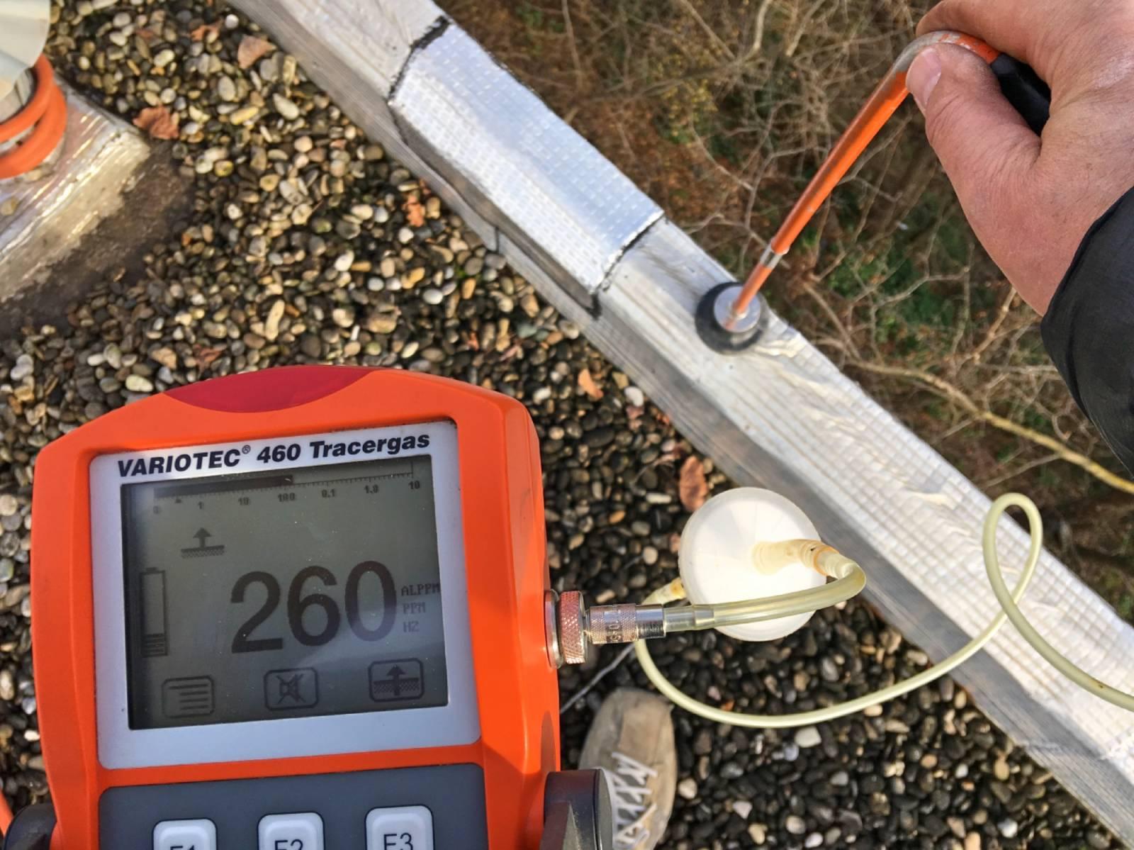 Comment rechercher une fuite par gaz traceur