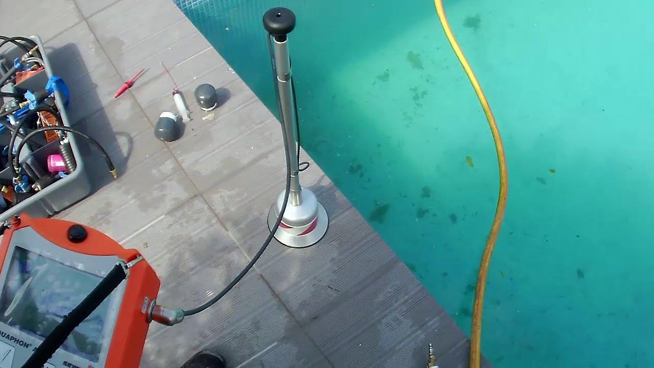 Comment vérifier les fuites de plomberie dans une piscine